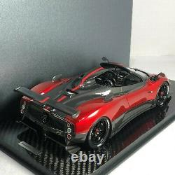 1/18 Peako Model Pagani Zonda Cinque Roadster Red Carbon Base Special Edition