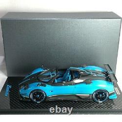 1/18 Peako Model Pagani Zonda Cinque Roadster UNO Carbon Base Special Edition