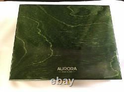 18kt Gold Aurora Benvenuto Cellini 18ktgold Limited Edition Fountain Pen 86/199