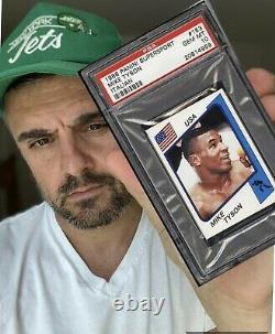 1986 Panini Supersport Mike Tyson Boxing Rookie RC #153 ITALIAN VERSION PSA 10