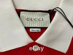 $900 Gucci Limited Edition Three Pigs Polo Shirt Size XXL, Made in Italy