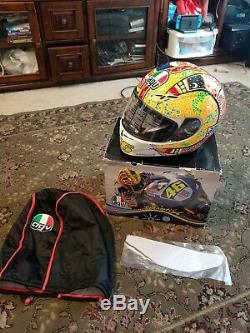 AGV GP-TECH DREAMTIME SIGNED VALENTINO ROSSI LIMITED EDITION BRAND NEW XL WithBOX