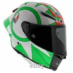AGV Pista GP-R Limited Edition Rossi Italy Mugello Tricolore Motorcycle Helmet