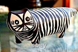 ALDO LONDI GATTO TIGRATO TIGER CAT RARE LIMITED EDITION BITOSSI Made in Italy