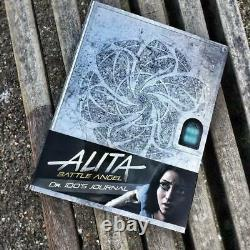 ALITA BATTLE ANGEL Blu-ray 4K + 2D Steelbook CINEMUSEUM CMA #13 COMBO EDITION