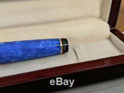 AURORA Mare Limited Edition B 18K Gold Nib Fountain Pen, MINT