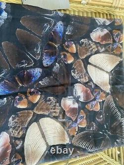 Alexander McQueen/Damien HIrst'LIMITED EDITION'PERSEPHONE BUTTERFLY SCARF