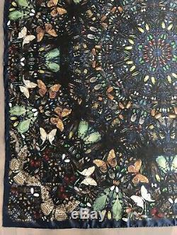 Alexander McQueen x Damien Hirst Limited Edition'Capaneus' 100% Silk Scarf