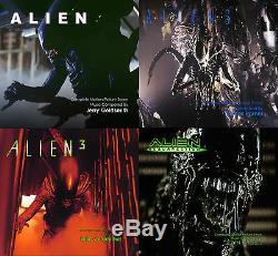 Alien Soundtracks Boxset 8 x CD Complete Limited Edition Jerry Goldsmith