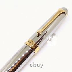 Aurora 88 70th Anniversary Limited Edition 188 Flex Fine nib Silver Fountain Pen