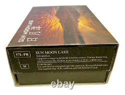 Aurora Optima Sun Moon Lake Sunset Limited Edition Blue lacquer Fountain Pen