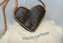 Authentic Limited Edition Louis Vuitton Game On Coeur Heart Bag