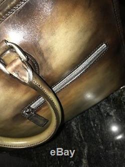 BERLUTI Venezia Leather SPECIAL EDITION Briefcase