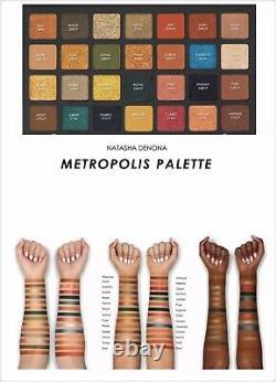 BNIB NATASHA DENONA Metropolis Limited Edition Eyeshadow Palette Retail $129