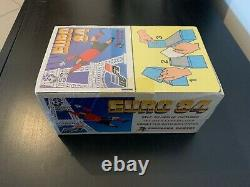 Box display Euro 84 Panini sealed Greek version Perfect Ultra rare
