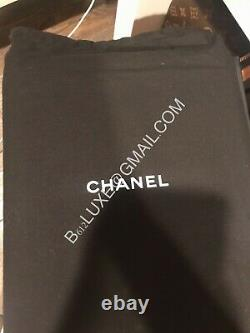 CHANEL Authentic O Bag RARE Airport Edition Leather Clutch Bag SOLD OUT NIB