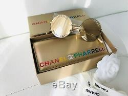 Chanel 2019d Pharrell Limited Edition Gold Frame Capsule Collection Sunglasses