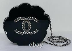 Chanel Camellia Evening Clutch Crossbody Shoulder Bag LIMITED EDITION NEW