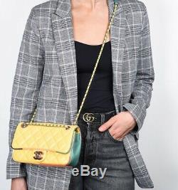 Chanel Cuba Rainbow Small Limited Edition Flap Bag Handbag CC 17 2017 Paris