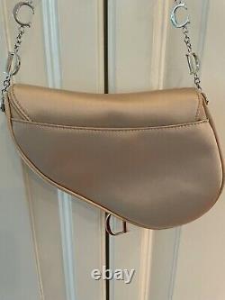 Christian Dior Limited Edition Champagne Satin Jeweled Handbag-$6000 Collectible