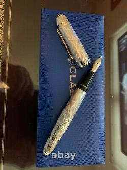 Classic Pens CP8 Ag925 Sterling Silver Flamme 2008 Limited Edition Fountain Pens