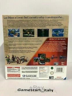 Console Gamecube Zelda Wind Waker Pak Limited Edition Platino Nuova New Rare