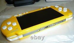 Console Psp Slim Limited Yellow Edition Psp-2004 Zy New Not Sealed Pal Rare