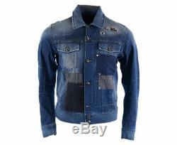 DIESEL D JIM 0855J Mens Denim Jeans Jacket Winter Outwear Coat Limited Edition