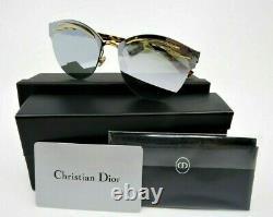 Dior Emprise 06J Limited Edition Gold Titanium Havana Women Sunglasses New withBox