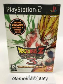 Dragon Ball Z Budokai Tenkaichi 3 Collector's Edition Sony Ps2 New Pal Ita