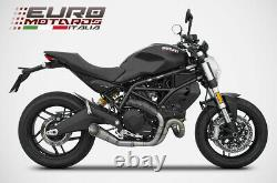 Ducati Monster 797 Zard Exhaust Racing Full System Inox Special Edition