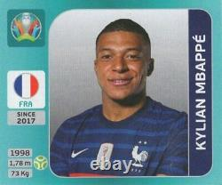 EURO 2020 TOURNAMENT EDITION Compete set 654 (no album), Blue editiona