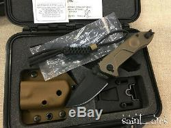 Extrema Ratio Ti-ROCK Black Collectors Edition. Made in Italy. Military Knife