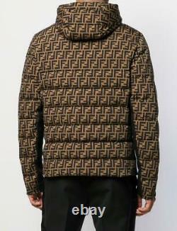 Fendi FF Motif Men Jacket Size L RRP £1500 Limited Edition