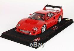 Ferrari F40 LM Press Version in 1/18 by BBR Models
