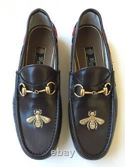 GUCCI 1953 Kingsnake Bee Horsebit Special Edition Loafer, Sz UK 8 (US 8.5) $1000
