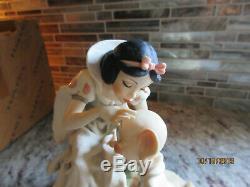 Giuseppe Armani Snow White & Dopey Walt Disney #0309C Limited Edition New in Box