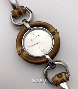 Gucci Bamboo Stainless Steel Women's Watch Special Edition YA132403