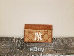 Gucci Card Holder NY Yankees Edition NEW