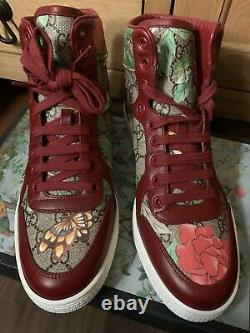 Gucci GG Tian Supreme High Top Sneakers Trainers Shoes UK 6 Ltd Edition BNIB