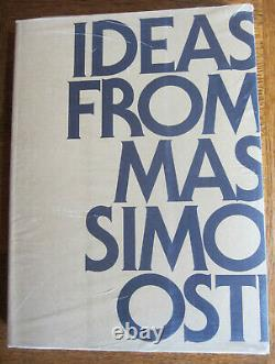 Ideas From Massimo Osti Book 2nd Edition 2016 NEW SEALED Stone Island / CP