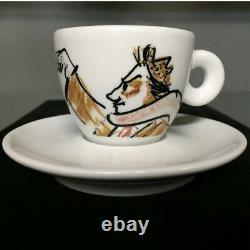 Illy collection 1993 Espresso cup Federico Fellini Limited Edition