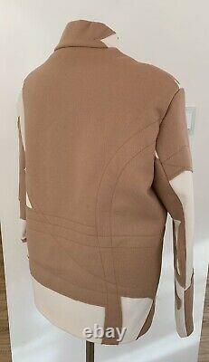 Liu Wei For Max Mara Limited Edition Wool Jacket It38 Us4 Eu34 New