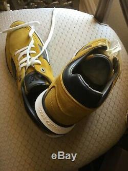 Louis Vuitton Mens 1100 Miles Mustard Sneaker Sz. 8 New In Box Limited Edition
