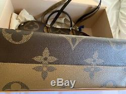 Louis Vuitton Monogram Giant On The GO Limited Edition Made in Italy
