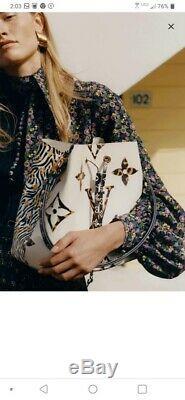 Louis Vuitton Neo Noe Limited Edition Monogram Jungle Design Giant Bucket Bag