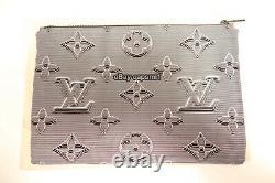Louis Vuitton REVERSIBLE POUCH LV 2054 3D Limited Edition Rare Mens Maroquinerie