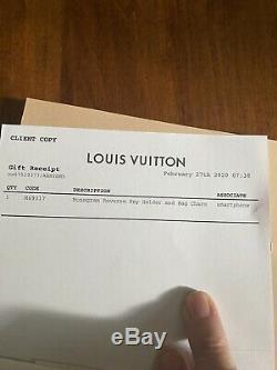 Louis Vuitton Reverse Monogram Giant Bag Charm & Key Holder Limited Edition