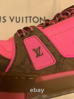 Louis Vuitton Trainer Sneakers PINK LV8 US 9 Ltd Edition SOLD OUT