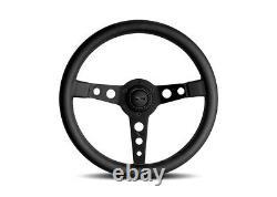 MOMO Prototipo Black Edition Full Black 350mm Steering Wheel New Genuine